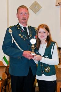 Sieger Eltern-Kind Pokal wurden Meinhard und Bente Otten
